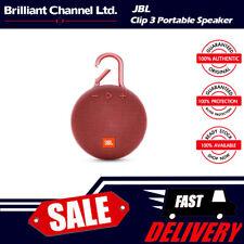 Harman JBL Clip 3 portable bluetooth waterproof speaker - Red