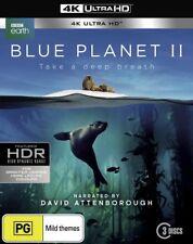Blue Planet II Season Series 2 Two Blu ray David Attenborough 4K UHD RB