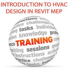 Introduction to HVAC Design in REVIT - Video Training Tutorial DVD