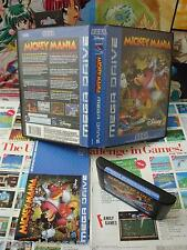 Megadrive MD:Mickey Mania [TOP DISNEY & 1ERE EDITION] COMPLET - Pal