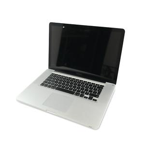 """Apple MacBook Pro A1286 15"""" Mid 2012 i7-3615QM 2.3GHz 16GB 240GB(Pressure Marks)"""
