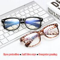 Anti Blue Ray Computer Goggles Reading Blue Light Blocking Glasses UV Eyeglasses