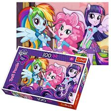 Trefl 100 Piece Kids Girls Equestria Girls Twilight Fluttershy Jigsaw Puzzle NEW