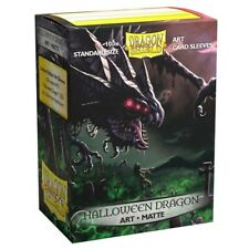 DRAGON SHIELD Halloween Dragon 100 Art Matte CARD SLEEVES DECK PROTECTORS MTG