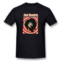 New Jimi Hendrix Men's T- shirt Black