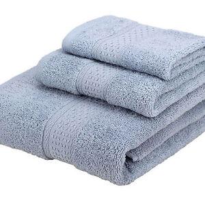 12 Colors 3pcs/set Cotton Luxury Cotton Face Hand Bath Bathroom Towel Sheet Sets