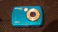 Polaroid isO48 16MP Waterproof Digital Camera, Blue Teal - Fast Shipping - H29