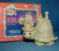 Precious Moments Figurine  bc941, God Bless Our Home w/box