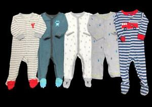 Baby Boy 9 Months 12 Months ALL Carter's Sleeper Pajama Clothes Lot
