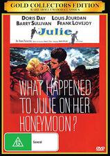 """Julie"" Doris Day & Louis Jourdan Crime Extremely Rare Movie"