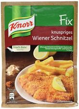 7 x Knorr FIX Breading for Wiener Schnitzel fresh from Germany New