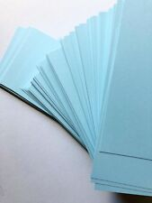 Baby Blue Powder Blue Cardstock 270GSM (Pack of 20) - 16 cm x 9 cm