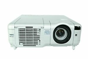 NEC MT1075 LCD Projector 4200 ANSI HD 1080i HDMI - Functional Acceptable w/Cable