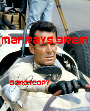 "JAMES GARNER Signed Autograph RP 8.5 x 11""  Photo  GRAND PRIX  ROCKFORD FILES"