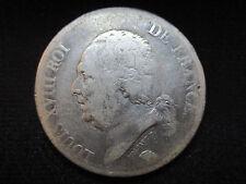 FRANCIA FRANCE LUIS XVIII - 5 FRANCOS 5 FRANCS 1824 M TOLOUSE