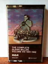 """""""The Complete Glenn Miller, 1941-1942/vol.VIII"""" RCA 1980  pre-owned  untested"""