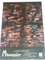affiche Alfred MANESSIER Exposition 1992