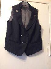 Button Waist Length Waistcoats for Women