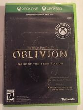 Sealed Elder Scrolls IV: Oblivion-Game of the Year Edition(Xbox 360,Xbox One X)