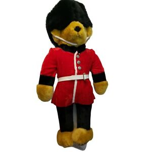 Merrythought Ironbridge Shrops Vintage Royal Guard Beefeater Teddy Bear England