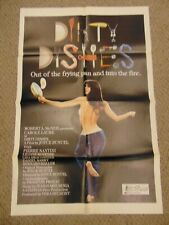 "DIRTY DISHES 1978 CAROLE LAURE JOYCE BUNUEL 27X41"" POSTER N7993"