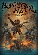 MONSTERS OF METAL VOL.9 2 BLU-RAY + DVD NEU