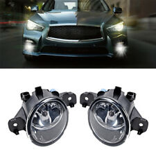 Replacement Fog Lights for Nissan Altima Maxima Rogue Sentra Clear Left+Right