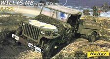 Heller 79997 - 1:72 Willys MB Jeep & Trailer - Neu