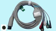 Mindray 6pin ECG Cable  5leads Compatible PM1000 2000 9000 MEC1000 2000