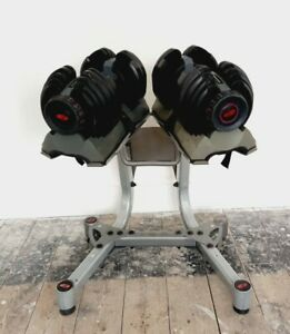 Bowflex 221 Dumbbells (Pair)2-21 Kgs + Bowflex Stand. Delivery Included