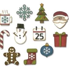 Sizzix Thinlits corte muere por Tim Holtz 11 un. - Mini Navidad cosas 662418