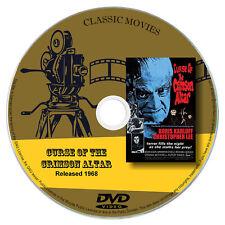 Curse of the Crimson Altar AKA The Crimson Curse 1968 Classic DVD Film - Horror