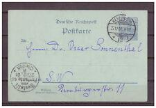 Deutsches Reich, Ganzsache P 49 innerhalb Berlin 27.12.1901