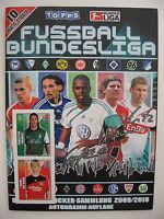 """Topps Sammelbilderalbum """"Fussball Bundesliga 2009/2010"""", komplett, plus Beilagen"""