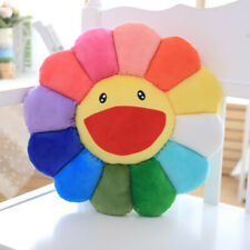 Murakami Ohaha Rainbow flower plush cushion pillow new
