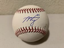 Alex Verdugo Signed OML Baseball MLB Authentication
