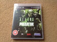 Aliens vs Predator PS3 in Excellent Condition Perfect Copy POST FREE PlayStation