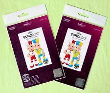 Sticker Mascots UEFA EURO 2012 Oficial Licensed Product of Ukraine