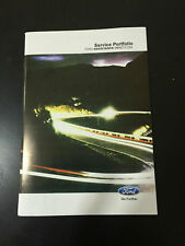 FORD FOCUS SERVICE BOOK NEW NOT DUPLICATE SUPER FAST FREE DELIVERY