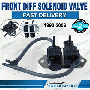 For Mitsubishi Front Diff Solenoid Valve Pajero 1990-06 NG NH NJ NL NM NP Delica