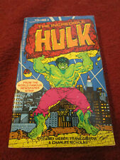 The Incredible Hulk, volume 5 (1983, pb) Tempo Books newspaper strip comics