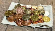 50 Larpmünzen Erst die Arbeit + Beutel - Larpgeld - LARP Münzen Spielgeld