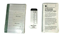 1 Pocket Day Timer Extra Pages Amp 1 Planner Box Inserts Nip Factory Sealed