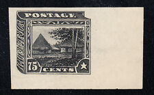 Liberia # 124 Imperforate Proof in BLACK (no gum proof) Signed SHERIDAN