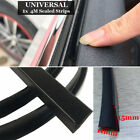 1 Pc 4 Meters Car V-type Rubber Black Side Sealed Strips Universal Parts