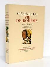 MURGER Scènes de la vie de bohème Ill. Daniel-Girard. Gibert Jeune 1939. Ex num