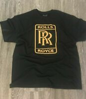 ROLLS ROYCE T-SHIRT VINYL LOGO