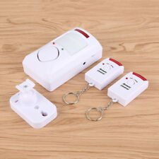 Infrared Motion Sensor Home Alarm Security System Detector With Remote Control Q