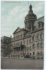 BALTIMORE MD Maryland City Hall 1909