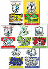 Jamie Johnson Football Series 7 Book Collection Skill from Brazil, Final Whistle